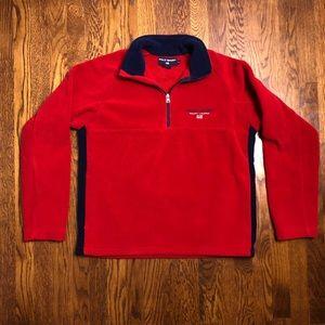 Vtg Polo Sport Ralph Lauren USA Quarter Zip Fleece